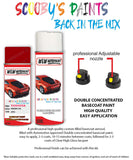 Toyota Aygo Super Red V 3P0 Aerosol Spray Paint Rattle Can