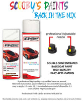Toyota Supra Super White 050 Aerosol Spray Paint Rattle Can