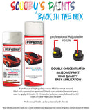 Toyota Corolla Sport White Crystal Shine 070 Aerosol Spray Paint Can