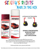 Toyota Starlet Wine Red 3J8 Aerosol Spray Paint Rattle Can