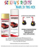 Toyota Yaris Yellow 595 Aerosol Spray Paint Rattle Can