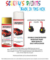 Toyota Yaris Yellow Flame Gold/Mystic 580 Aerosol Spray Paint Can