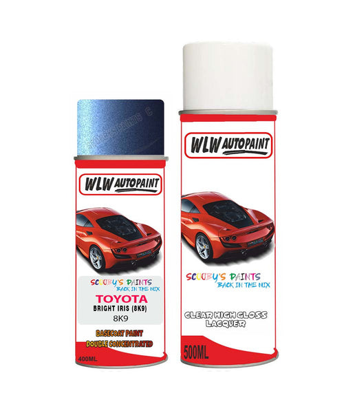 Toyota Celica Bright Iris (8K9) Aerosol Spray Paint And Lacquer 1995-2002