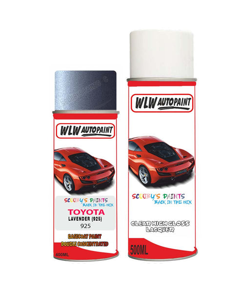 Toyota Rav4 Lavender 925 Aerosol Spray Paint Rattle Can
