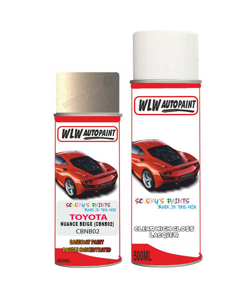 Toyota Gt86 Nuance Beige Cbnb02 Aerosol Spray Paint Rattle Can