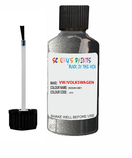 Vw Volkswagen Car Stone Chip Scratch Touch Up Paint Indium Grey