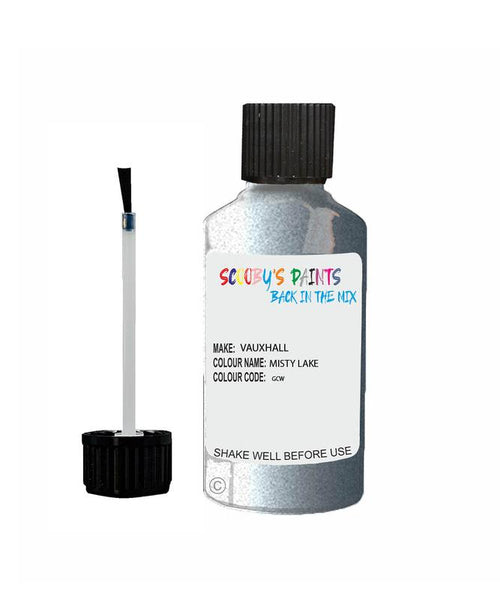 vauxhall astra misty lake code gcw touch up paint 2010 2013 Scratch Stone Chip Repair