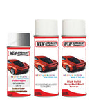 volkswagen golf reflex silver aerosol spray car paint clear lacquer la7w With primer anti rust undercoat protection