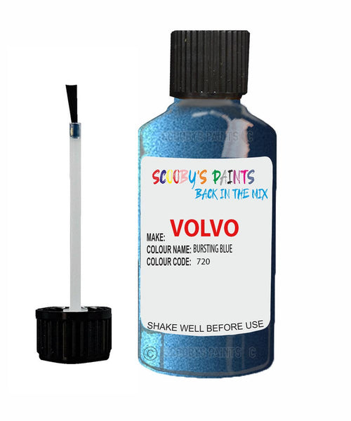 VOLVO XC60 BURSTING BLUE Colour Code: 720 Car Touch Up Paint