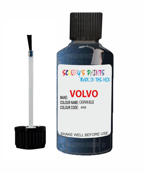 VOLVO XC60 CASPIAN BLUE Colour Code: 498 Car Touch Up Paint
