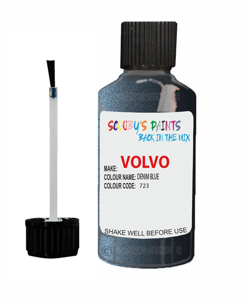 VOLVO XC90 DENIM BLUE Colour Code: 723 Car Touch Up Paint