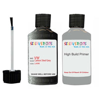 Vw Car Touch Up Paint Anti Rust Primer Undercoat Carbon Steel Grey