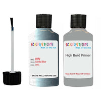 volkswagen passat crystal blue code lb5l touch up paint 2005 2010 Primer undercoat anti rust protection