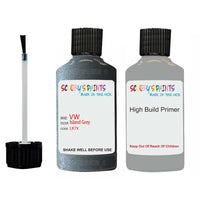 Vw Car Touch Up Paint Anti Rust Primer Undercoat Island Grey