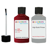 volkswagen jetta ruby red code la3q touch up paint 2014 2019 Primer undercoat anti rust protection