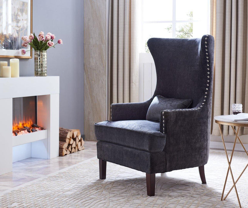CLAIRE - Wingback Accent Chair