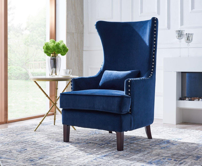 CLAIRE - Wingback Accent Chair - AllStarFurniture