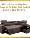 HAYSBORO Love W. Pull Out Sofa Bed