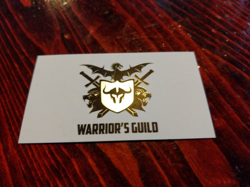 Warrior Guild 1 Month Card