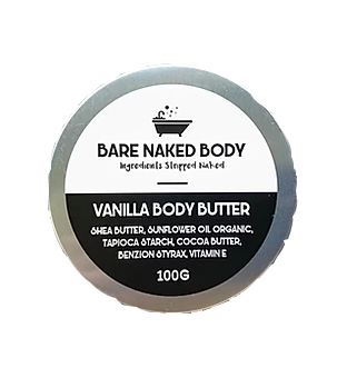 Vanilla Body Butter - Zest - for life