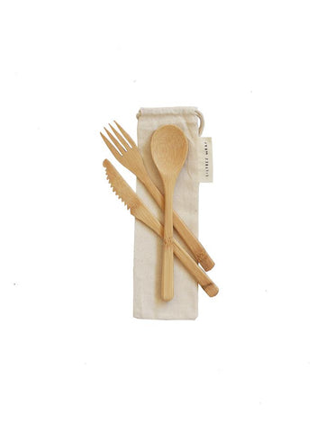 Bamboo Cutlery Set - Zest - for life