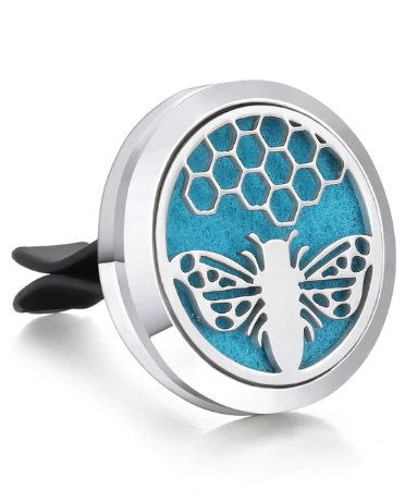Honey Bee Car Diffuser - Zest - for life