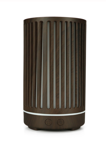 Stripe Dark Wooden Diffuser - Zest - for life
