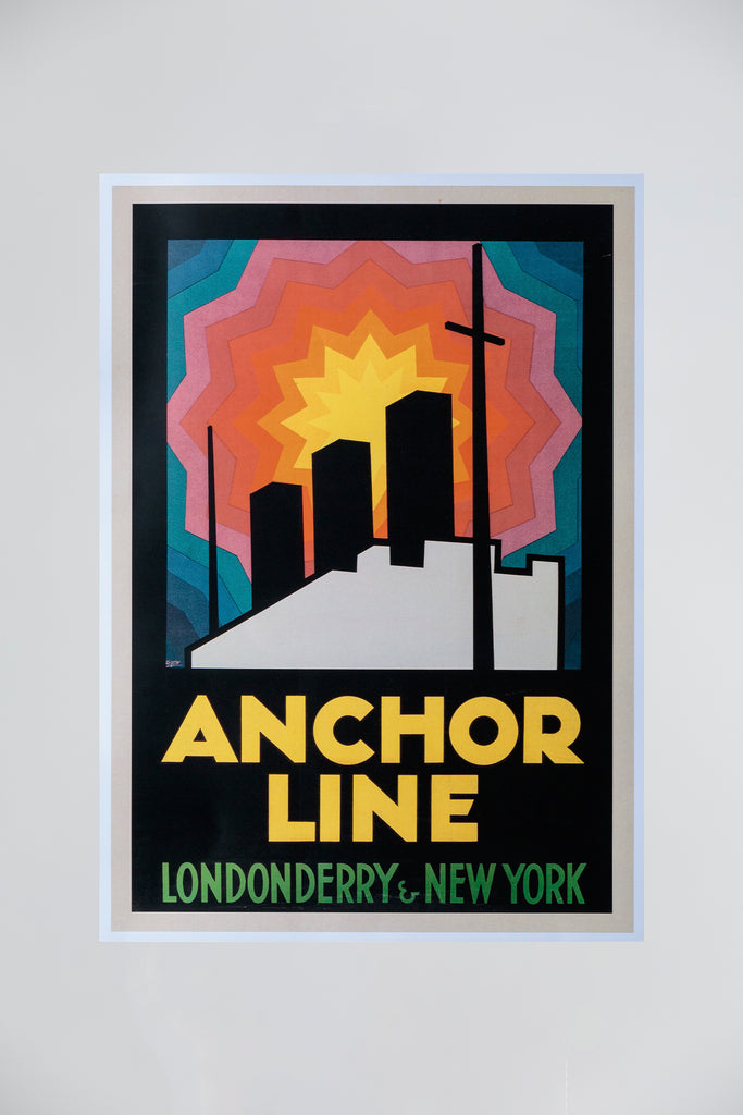 ANCHOR LINE POSTER - BOLD GRAPHIC