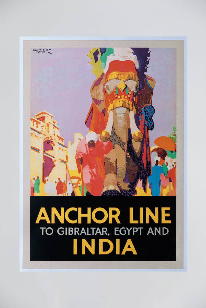 ANCHOR LINE POSTER - ELEPHANT