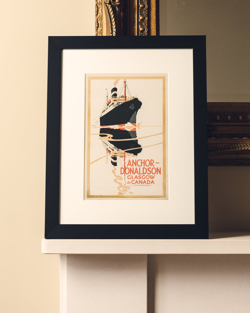 ANCHOR LINE FRAMED