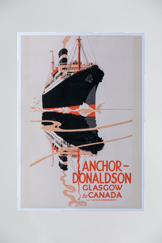 ANCHOR LINE POSTER - REFLECTION