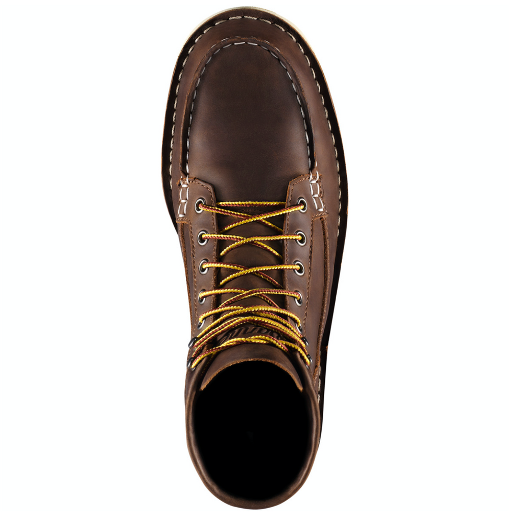 DANNER BULL RUN MOC TOE BOOT BROWN