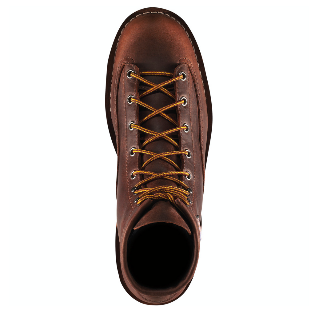 DANNER BULL RUN ROUND TOE BOOT BROWN