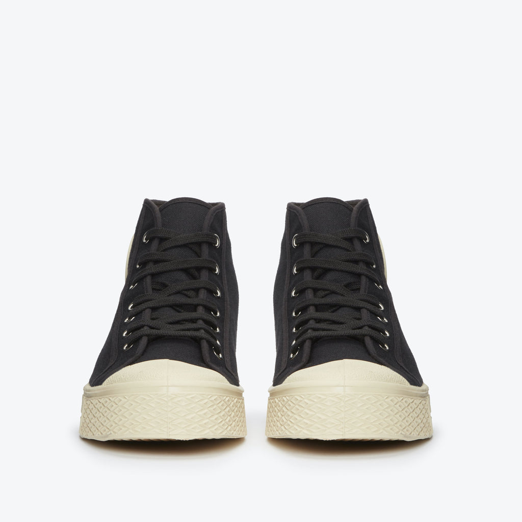 US RUBBER CO HIGH TOP SNEAKER BLACK