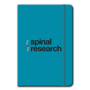 A5 Soft Touch Notebook - Spinal Research Logo Design