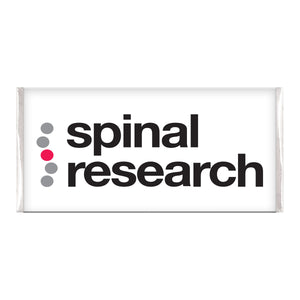 Chocolate Bar - Spinal Research Logo
