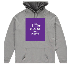 Unisex Hoodie - Own Photo Upload Option