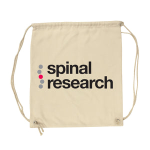 Gym Sack - Spinal Research Logo Design