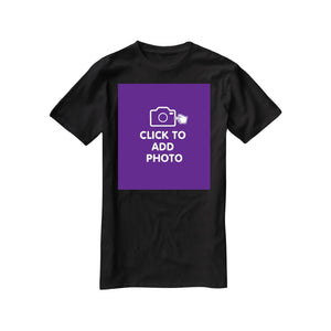 Unisex Tshirt - Own Photo Upload Option