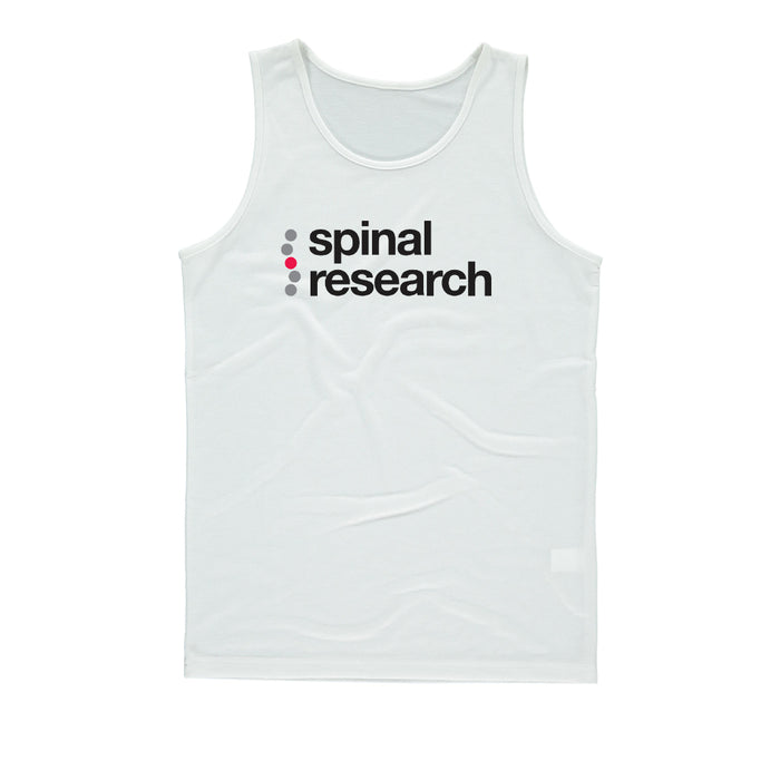 Mens Vest - Spinal Research Logo Design