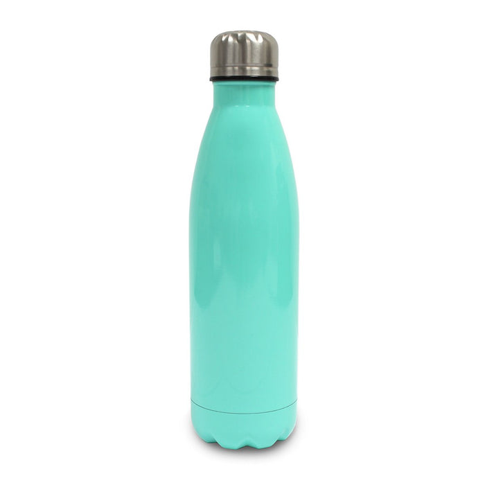 Stainless Steel Water Bottle (500ml) - Own Photo Upload Option - Available in 5 Colours