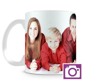 Ceramic Mug 10oz - Own Photo Upload & Name Personalisation Option