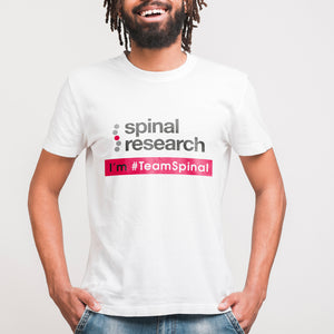 Unisex T-Shirt - Team Spinal Research Logo