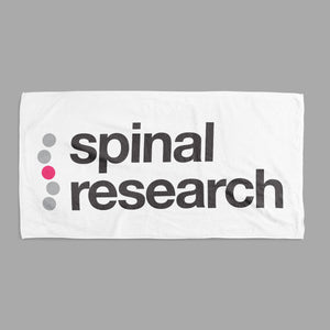 Towel - Spinal Research Logo Design