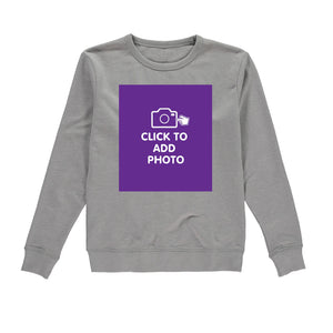 Womens Sweatshirt - Own Photo Upload Design