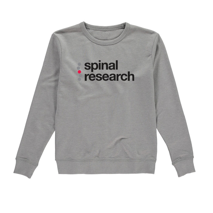 Womens Sweatshirt - Spinal Research Logo Design