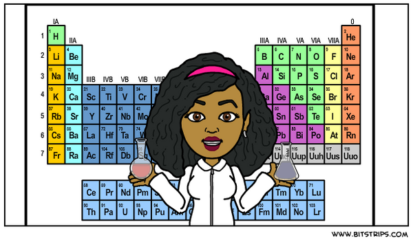 Naturalista scientist cartoon