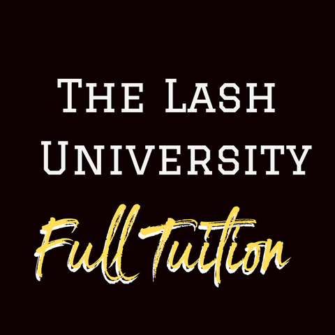 The Lash University Full Tuition