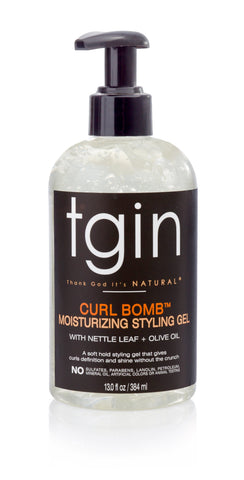tgin Curl Bomb Moisturizing - Styling Gel - Melanin Beauty Suppliers