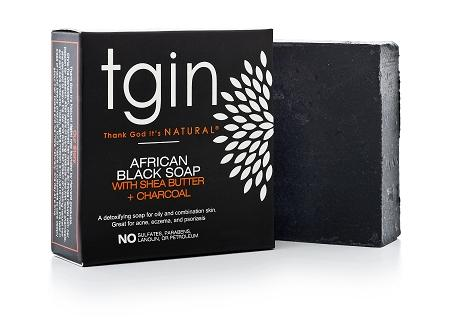 tgin African Black Soap - Melanin Beauty Suppliers